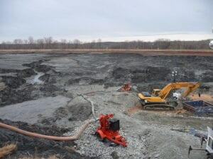 Nettoyage des cendres de charbon