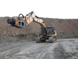 Excavator Attachment Dredger