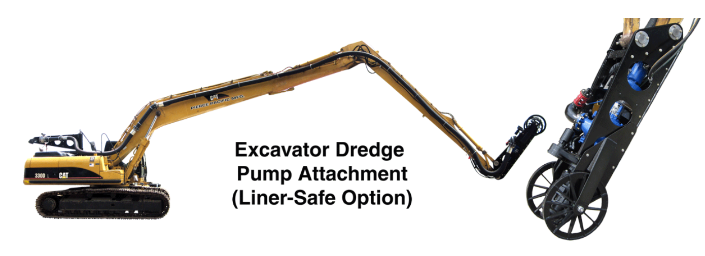 Liner Safe Excavator Dredger