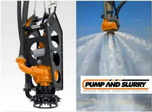 Hydraulic Cable Deployed Pump With Water Jetting Agitator
