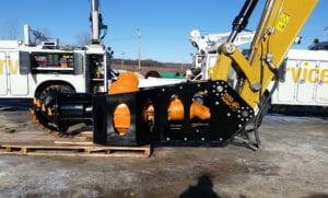Dredge Pump Excavator Attachment
