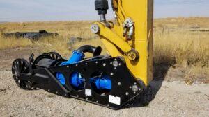 Liner Safe Excavator Dredge Attachment