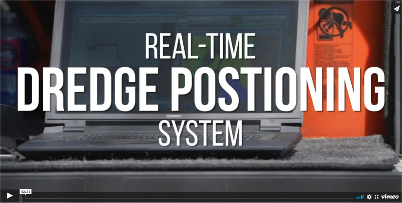 Dredge Positioning System Video
